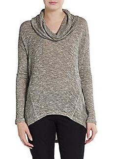 Ella Moss Cowlneck Hi-Lo Sweater