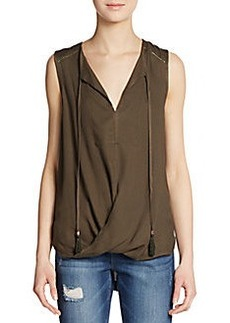 Ella Moss Draped Hi-Lo Top