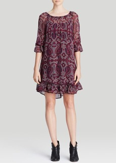 Ella Moss Dress - Baroque Silk