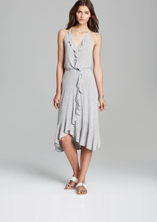 Ella Moss Dress - Icon Wrap Ruffle