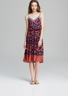 Ella Moss Dress - Poppy Fields