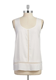 ELLA MOSS Embroidered Sleeveless Top