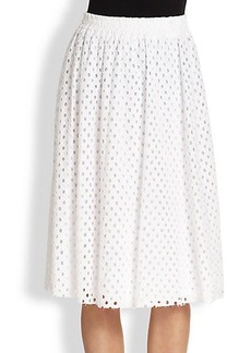 Ella Moss Eyelet Skirt