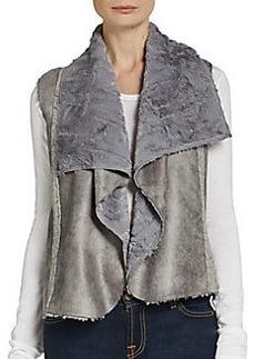 Ella Moss Faux Shearling Vest