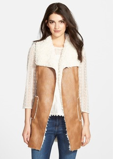 Ella Moss Faux Shearling Vest (Nordstrom Exclusive)