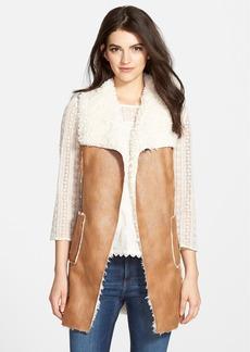 Ella Moss Faux Shearling Vest (Nordstrom Exclusive)