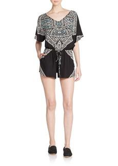 Ella Moss Fez Printed Short Jumpsuit