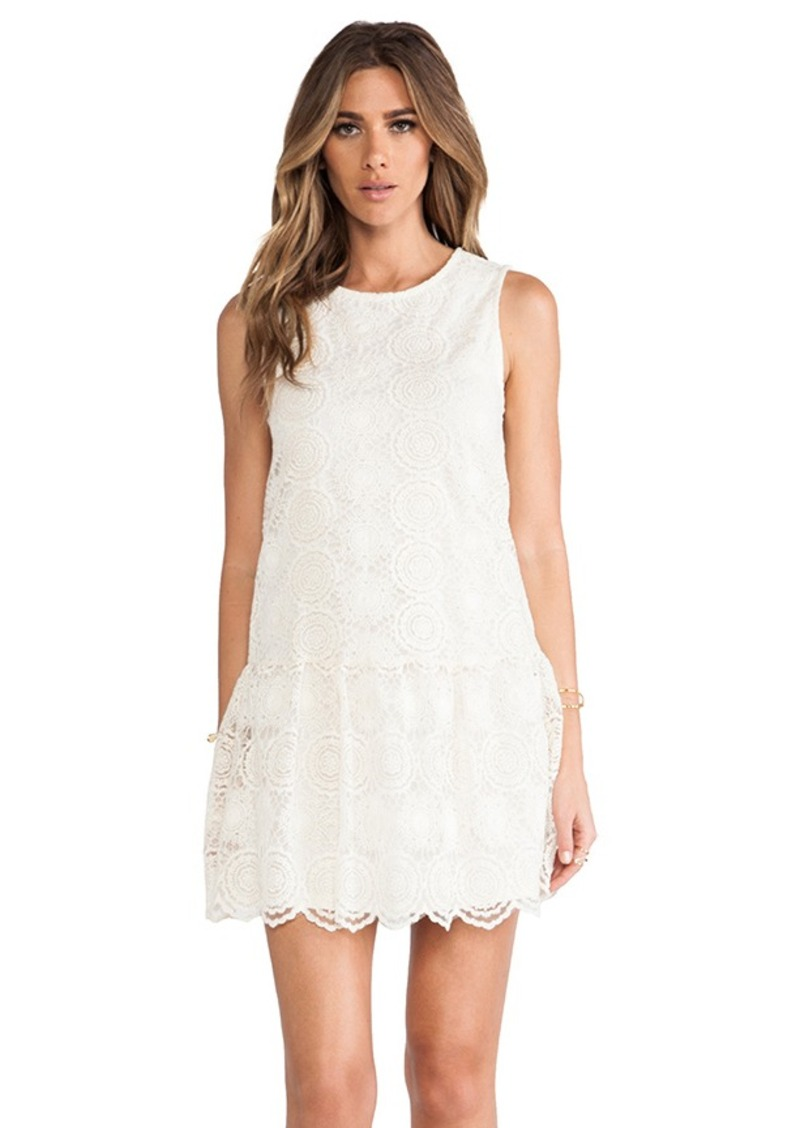 Ella Moss Hanalei Crochet Dress in Ivory