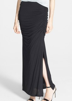 Ella Moss 'Icon' Ruched Maxi Skirt