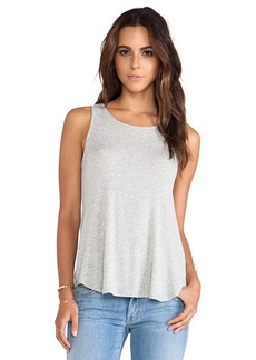 Ella Moss Icon Tank in Light Gray