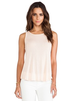 Ella Moss Icon Tank in Peach