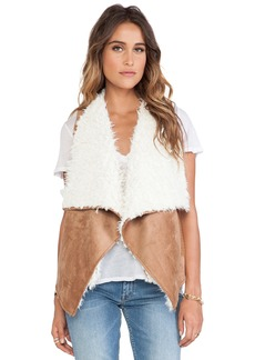 Ella Moss Jaden Faux Sherpa Vest