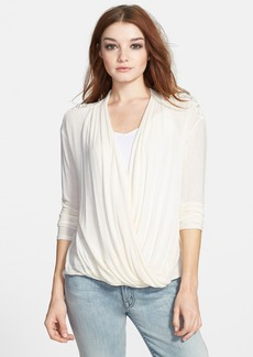 Ella Moss 'Joy' Wrap Front Top
