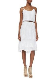 Ella Moss Knit Lace Sundress, White