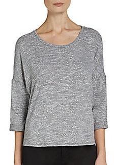 Ella Moss Lace Trimmed Sweatshirt