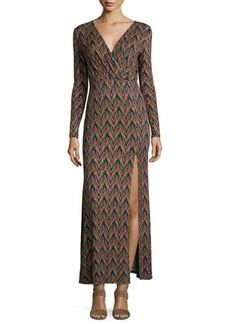 Ella Moss Long-Sleeve Maxi Dress