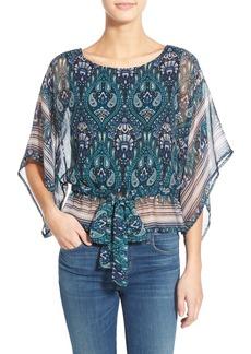 Ella Moss 'Lorelei' Kimono Sleeve Silk Top