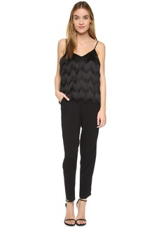 Ella Moss Love To Love You Fringe Jumpsuit