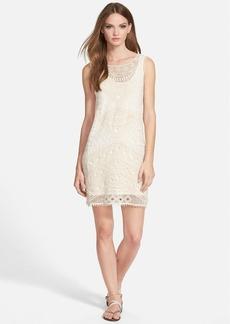 Ella Moss 'Lupita' Crochet Shift Dress