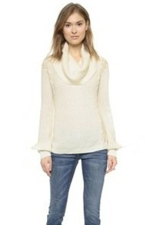 Ella Moss Lydia Cowl Neck Sweater
