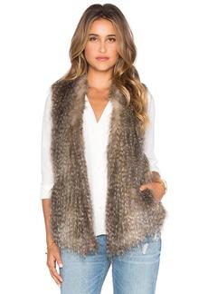 Ella Moss Lyla Faux Fur Vest