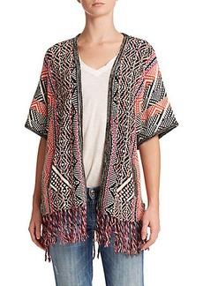 Ella Moss Malika Open-Front Sweater