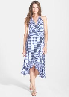 Ella Moss 'Mallory' Stripe Faux Wrap Dress