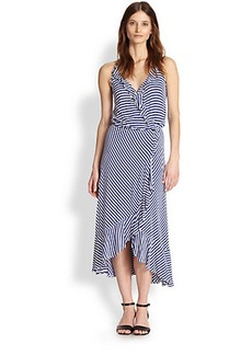 Ella Moss Mallory Striped Racerback Dress