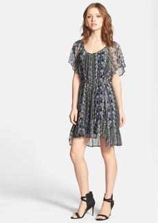 Ella Moss 'Meadow' Floral Print Silk Dress