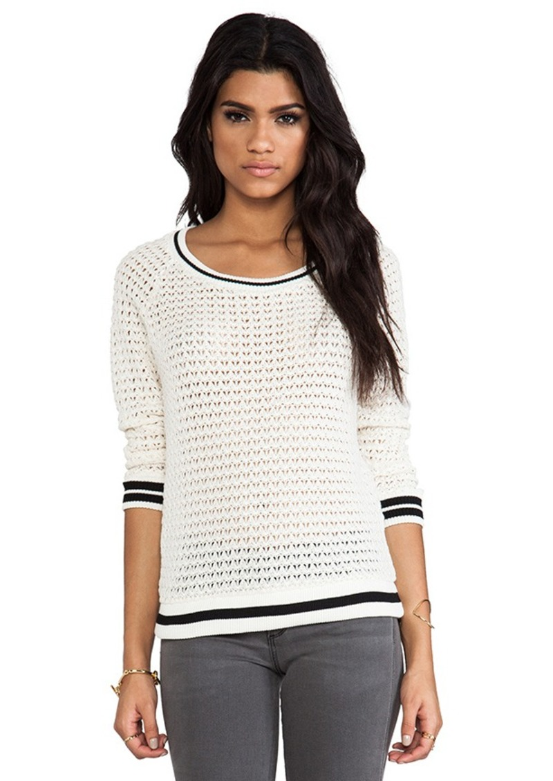 Ella Moss Millie Sweater in Ivory