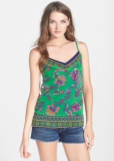 Ella Moss 'Monarch' Print Silk Tank