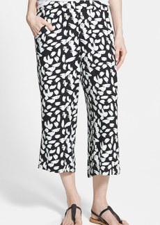 Ella Moss 'Monet' Print Crop Pants