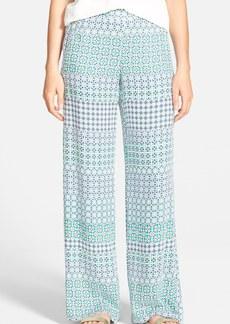 Ella Moss 'Mozaic' Wide Leg Pants