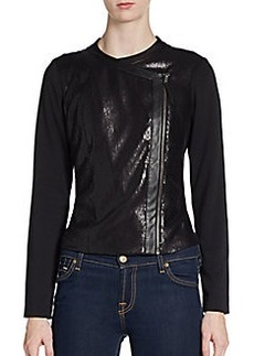 Ella Moss Nika Sequin Zip Jacket