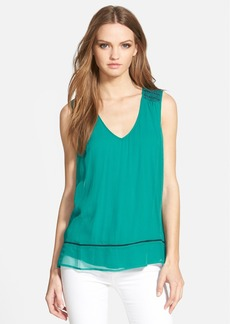 Ella Moss 'Nile' Sleeveless Silk Tank