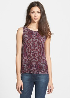 Ella Moss Print High/Low Tank