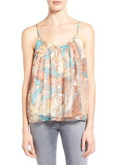 Ella Moss Print Silk Camisole
