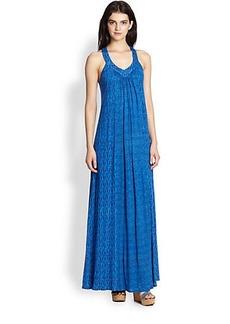 Ella Moss Printed Maxi Dress