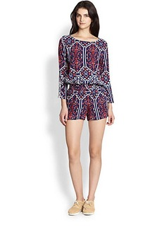 Ella Moss Printed Short Jumpsuit