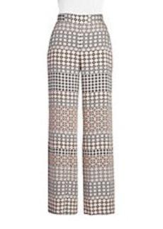 ELLA MOSS Printed Wide Leg Pants