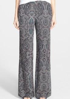 Ella Moss 'Robertson' Print Wide Leg Pants