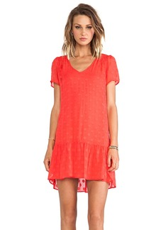 Ella Moss Sabine Dress in Orange