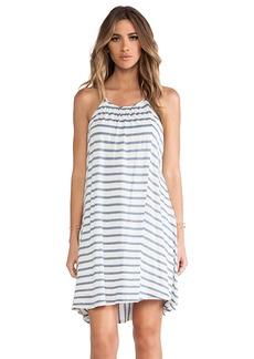 Ella Moss Seaside High-Lo Dress in Blue