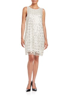 ELLA MOSS Sequined Shift Dress