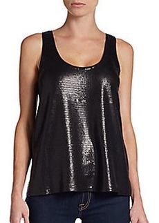 Ella Moss Sequined Tank Top
