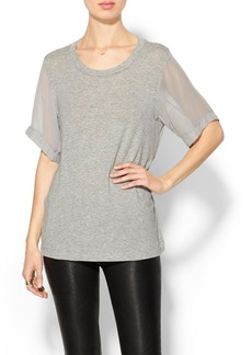 Ella Moss Sheer Sleeve Tunic