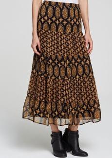 Ella Moss Skirt - Marigold Silk