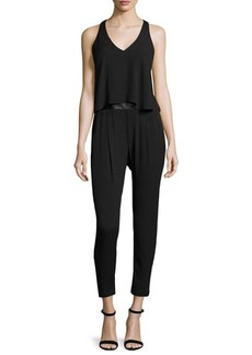 Ella Moss Sleeveless Strappy-Back Jumpsuit