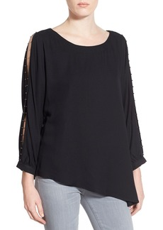 Ella Moss 'Stella' Asymmetrical Split Arm Top