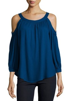Ella Moss Stella Cold-Shoulder Top